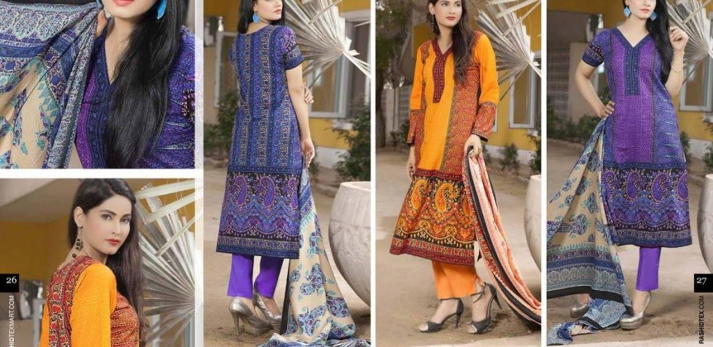 Khaddar Fabric Shalwar Kameez Winter Wear By Rashid 2015-16