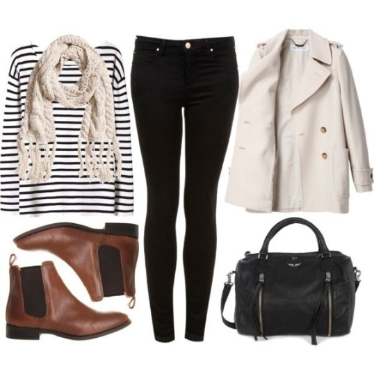 Must See Winter Outfits With Ankle Boots Fashion 9