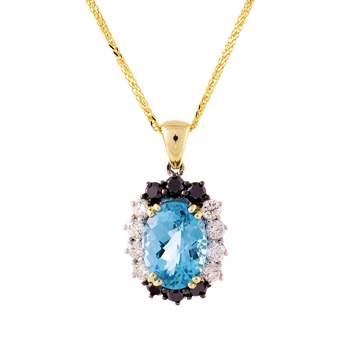 pendant diamond necklace