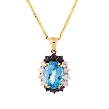 pendant diamond necklace