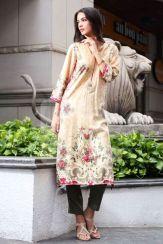 Pret Linen Winter Dresses For Women By Nishat Linen 2015-16 5
