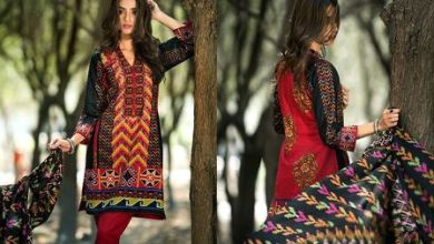 Printed Cambric Shirts By Al Zohaib Textiles 2015-16