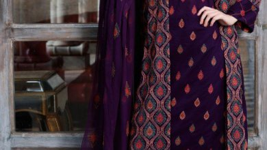 Printed Kameez Fall Collection By Bareeze 2015-16