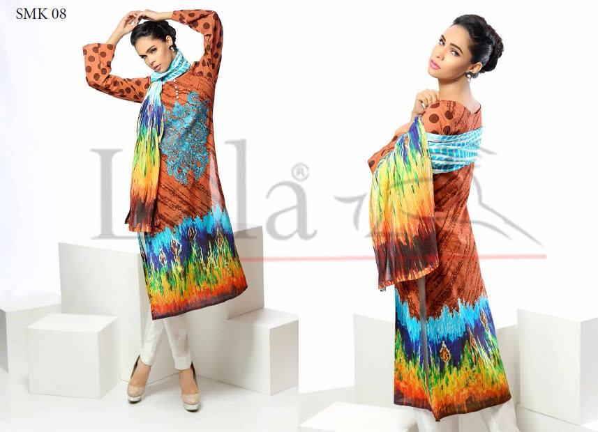 colorful kurti