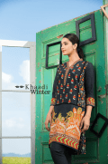 Two Piece Embroidered Polyester Kameez By Khaadi 2015 3