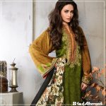 Velvet Shalwar Kameez Collection By Gul Ahmed 2016 13