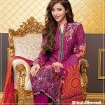 Velvet Shalwar Kameez Collection By Gul Ahmed 2016