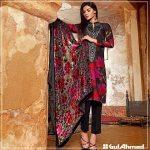 Velvet Shalwar Kameez Collection By Gul Ahmed 2016 21