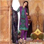Velvet Shalwar Kameez Collection By Gul Ahmed 2016 22