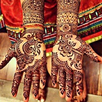 Winter Bridal Mehndi Ideas Fashion 2015-16 14
