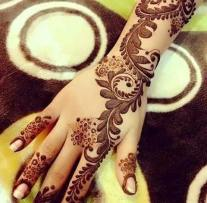 Winter Bridal Mehndi Ideas Fashion 2015-16 3