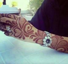 Winter Bridal Mehndi Ideas Fashion 2015-16 6