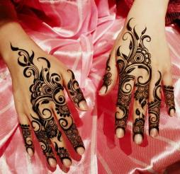 Winter Bridal Mehndi Ideas Fashion 2015-16 7