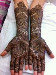 Winter Bridal Mehndi Ideas Fashion 2015-16 9