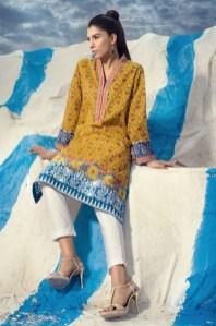 Winter Pret Kurtas Designs For Women By Khaadi 2015-16 2