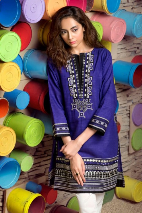 Winter Pret Kurtas Designs For Women By Khaadi 2015-16 3