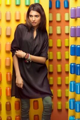 Winter Pret Kurtas Designs For Women By Khaadi 2015-16 6