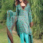 Winter Printed Kameez Designs By Nishat Linen 2015-16