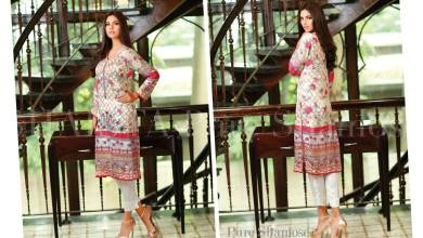 Winter Printed Kurtis By Shaista 2015-16