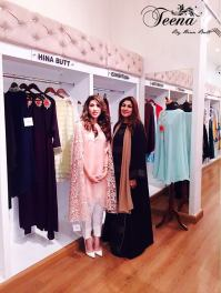Winter Wedding Party Dresses Teena By Hina Butt 2015-16 10
