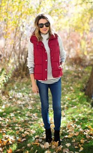 Women Puffer Vest Designs For This Fall Season 3