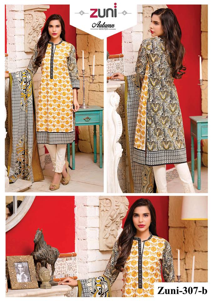 Amna Ismail Winter Collection 2015-16 Zuni Kurtis 14