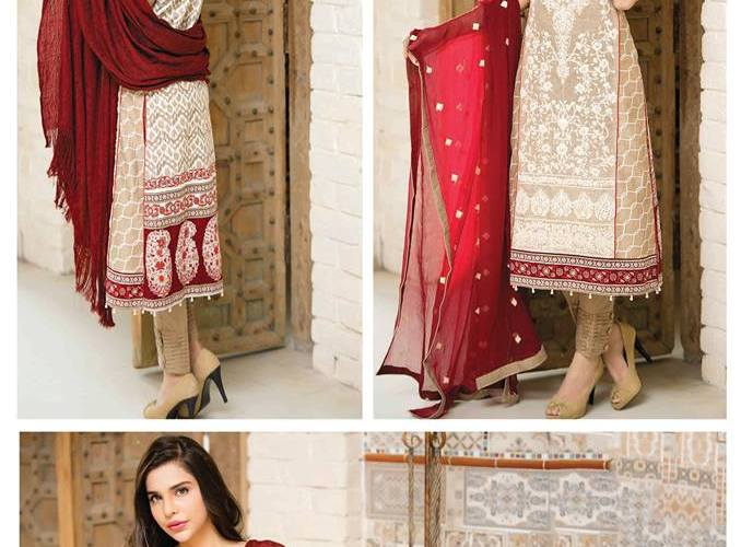 Amna Ismail Winter Collection 2015-16 Zuni Kurtis