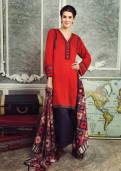 Cottel Fabric Winter Collection By Alkaram Studio 2015-16 1