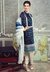 Cottel Fabric Winter Collection By Alkaram Studio 2015-16 5