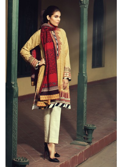 Cotton Karandi Winter Collection By Sania Maskatiya 2015-16