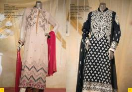 Embroidered formal wear