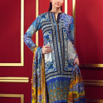 Embroidered Silk Karandi Winter Collection By Gul Ahmed 2015-16 3