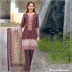 Gul Ahmed Winter Collection 2015 For Pakistani Women 3