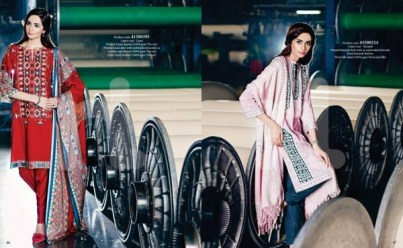 Nishat Linen Winter Collection 2015 For Casual & Formal Wearing 11