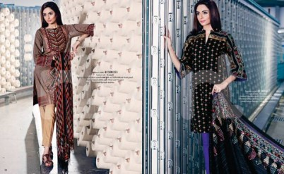Nishat Linen Winter Collection 2015 For Casual & Formal Wearing 8