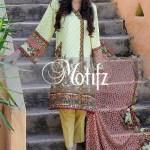 Printed Karandi Winter Collection By Motifz 2015-16 10
