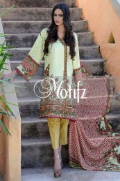 Printed Karandi Winter Collection By Motifz 2015-16 10