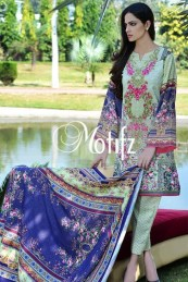 Printed Karandi Winter Collection By Motifz 2015-16 5