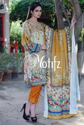 Printed Karandi Winter Collection By Motifz 2015-16 8