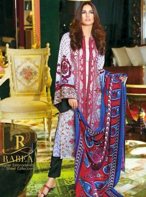 Rabea Shawl Collection For Winter By Shariq Textiles 2015-16 9