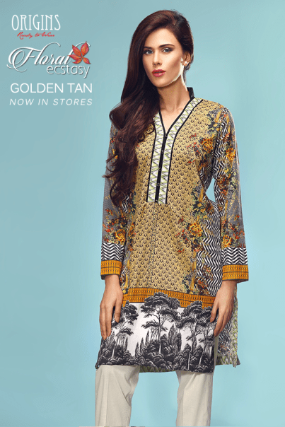 Ready To Wear Winter Kurtis By Origins 2015-16 11