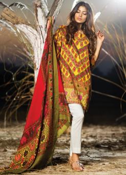 Sana Safinaz Winter Shawl Collection Shalwar Kameez 2015-16 5