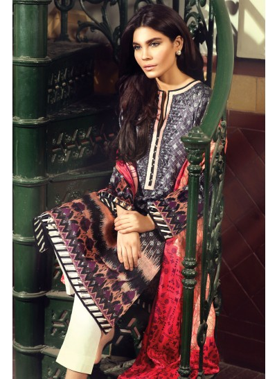 Sateen Winter Collection By Sania Maskatiya 2015-16