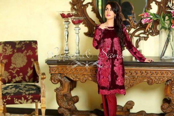 red formal wear dress