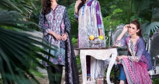 Three Piece Winter Shalwar Kameez By Pareesa 2015-16