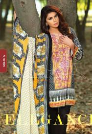Winter Khaadi Printed Shalwar Kameez By Lala Textiles 2015-16