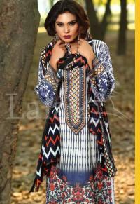 Winter Khaadi Printed Shalwar Kameez By Lala Textiles 2015-16 11