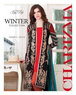 Winter Three Piece Suits Shalwar Kameez Vol 2 By Charizma 2016 11