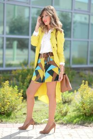 Yellow Winter Fashion Items To Try This Fall 2015-16