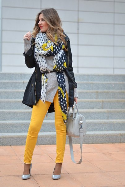 Yellow Winter Fashion Items To Try This Fall 2015-16 14